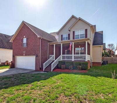 Spring Hill Single Family Home Under Contract - Not Showing: 3008 Carpenter Pass