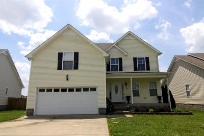 Clarksville TN Single Family Home For Sale: $192,000