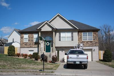 Clarksville TN Single Family Home For Sale: $205,000