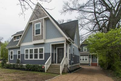 East Nashville Single Family Home Under Contract - Showing: 916 A Fairwin Ave