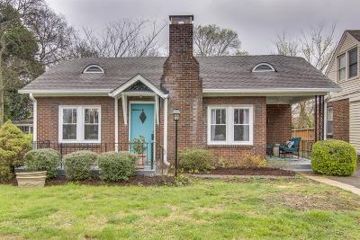 Nashville Single Family Home For Sale: 1410 McGavock Pike