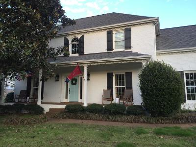 Franklin  Single Family Home For Sale: 1311 Holly Hill Dr