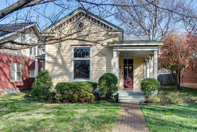 Nashville Single Family Home For Sale: 903 Fatherland St