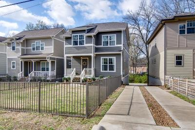 Nashville Single Family Home For Sale: 307 B McKennell Dr