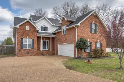 Lebanon Single Family Home For Sale: 1611 Woodhaven Ct
