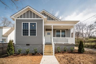 Nashville Single Family Home For Sale: 820 24th Ave N