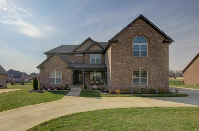 Clarksville Single Family Home Under Contract - Showing: 3160 Carrie Taylor Cir