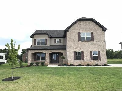 Rutherford County Single Family Home Under Contract - Not Showing: 1107 General Marshall Lot#241