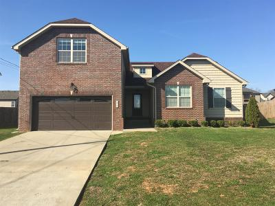 Clarksville TN Single Family Home For Sale: $174,000