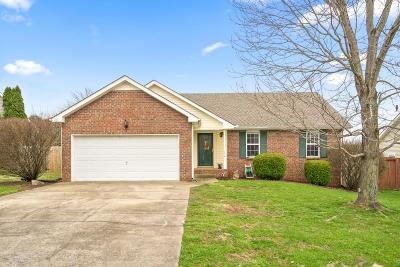 Clarksville TN Single Family Home For Sale: $139,900