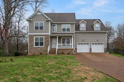 Williamson County Single Family Home For Sale: 2106 Burgess Ln