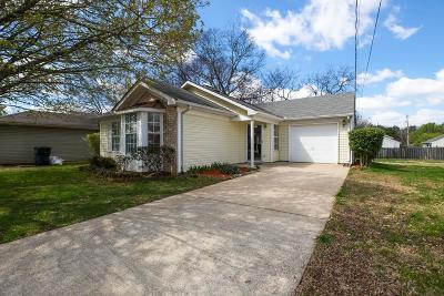 Davidson County Single Family Home For Sale: 613 N Stonegate Dr