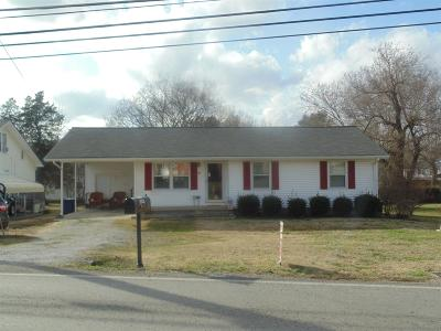 Shelbyville Single Family Home For Sale: 1043 Fairfield Pike