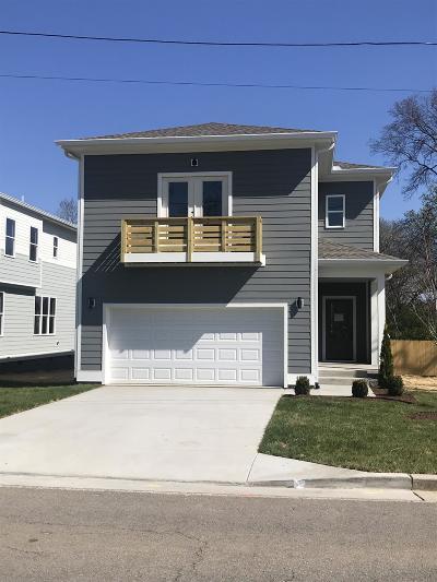 Nashville Single Family Home For Sale: 5700 Maxon Ave