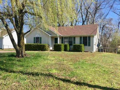 Clarksville Single Family Home Under Contract - Showing: 776 Princeton Cir