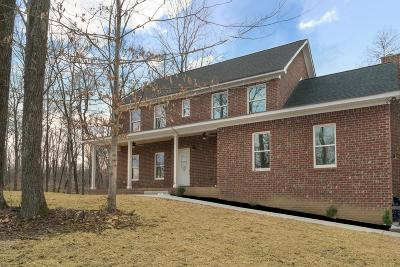 Ashland City Single Family Home For Sale: 1020 Wiley Pardue Rd