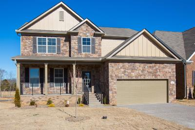 Smyrna Single Family Home For Sale: High Jump - Lot 720