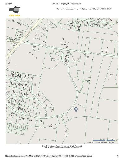 Murfreesboro Residential Lots & Land For Sale: Saddle Dr