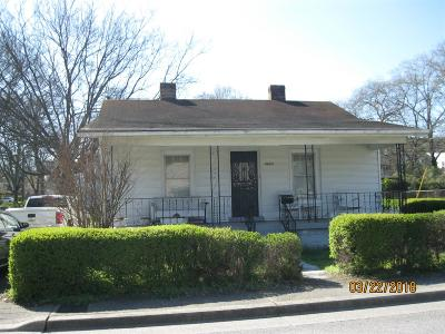 Davidson County Single Family Home Under Contract - Not Showing: 2423 Alameda St