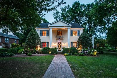 Nashville Single Family Home Active - Showing: 3713 Whitland Ave