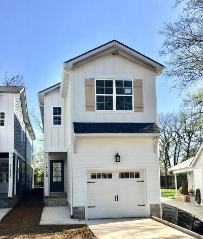 East Nashville Single Family Home Under Contract - Showing: 1412 A Chester Ave