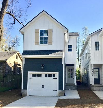 East Nashville Single Family Home Under Contract - Showing: 1412 B Chester Ave