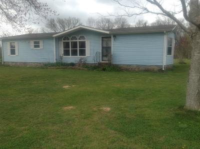 Marshall County Single Family Home For Sale: 1154 Snell Rd