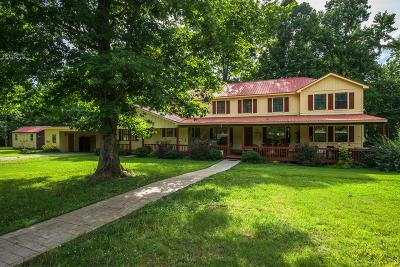Linden Single Family Home For Sale: 485 Lower Roans Creek Rd