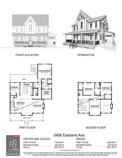 East Nashville Single Family Home For Sale: 2456 Eastland Ave