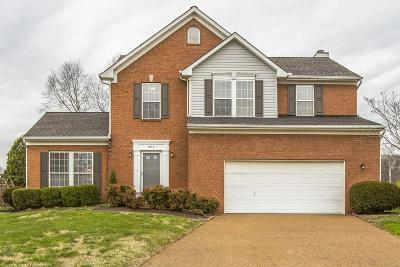 Thompsons Station Single Family Home Under Contract - Showing: 804 Winners Circle Ct