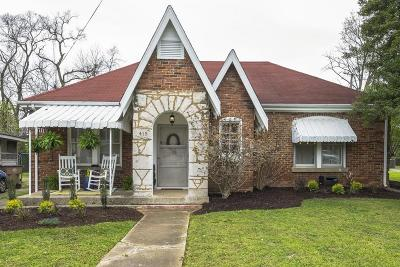 East Nashville Single Family Home For Sale: 415 Scott Ave