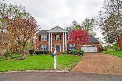 Franklin TN Single Family Home Under Contract - Showing: $412,000