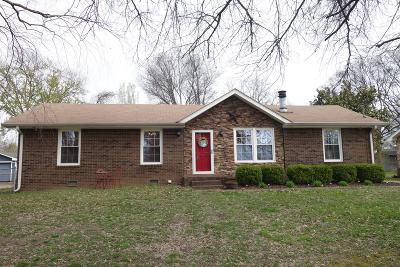 Hendersonville Single Family Home Under Contract - Showing: 119 Creekwood Ln