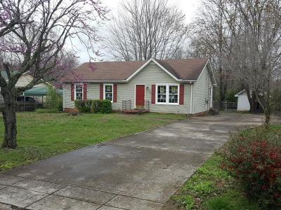 Clarksville Single Family Home For Sale: 1582 Mary Beth Ln