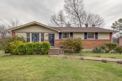 Nashville Single Family Home Active - Showing: 3204 Leswood Ln