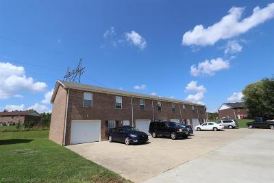 Clarksville Multi Family Home Under Contract - Not Showing: 598 Cory Dr