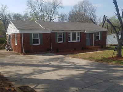 Davidson County Single Family Home Under Contract - Showing: 4905 Cypress Dr