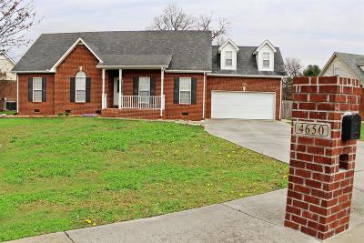 Murfreesboro TN Single Family Home For Sale: $260,000