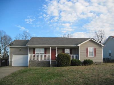 Montgomery County Single Family Home Under Contract - Showing: 1481 McClardy Rd
