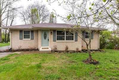 Gallatin Single Family Home Under Contract - Showing: 320 Patterson Dr
