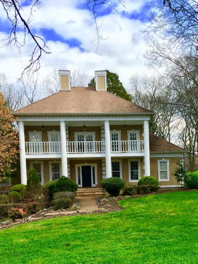 Brentwood Single Family Home Under Contract - Showing: 1016 Jones Pkwy