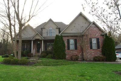 Christian County, Ky, Todd County, Ky, Montgomery County Single Family Home Under Contract - Showing: 982 South Ridge Trail