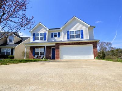 Murfreesboro Single Family Home Under Contract - Not Showing: 1833 Antebellum Dr