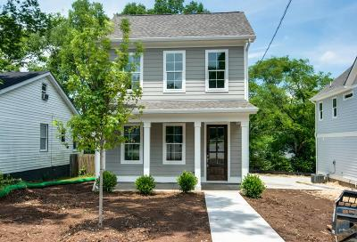 East Nashville Single Family Home For Sale: 307 Prince Ave