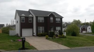 Spring Hill  Single Family Home For Sale: 1253 Baker Creek Dr