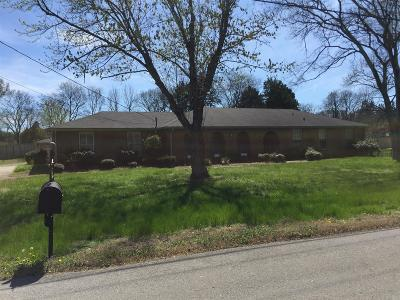 Lebanon Single Family Home Under Contract - Showing: 1706 Cook Dr