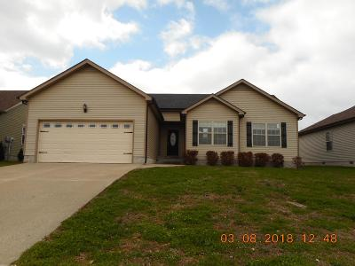 Clarksville Single Family Home For Sale: 1374 Whitt Ln