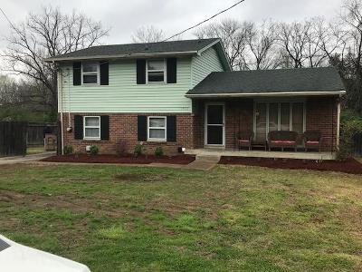 Nashville Single Family Home For Sale: 3908 Dewain Dr