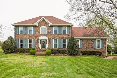 Brentwood Single Family Home Under Contract - Showing: 1418 Bunker Hill Rd
