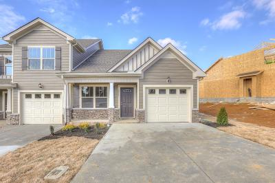 Maury County Condo/Townhouse Under Contract - Not Showing: 1017 Muna Court Lot 94